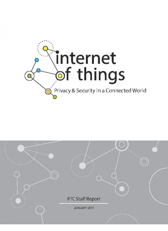 internet of things Privacy & Security in a Connected World