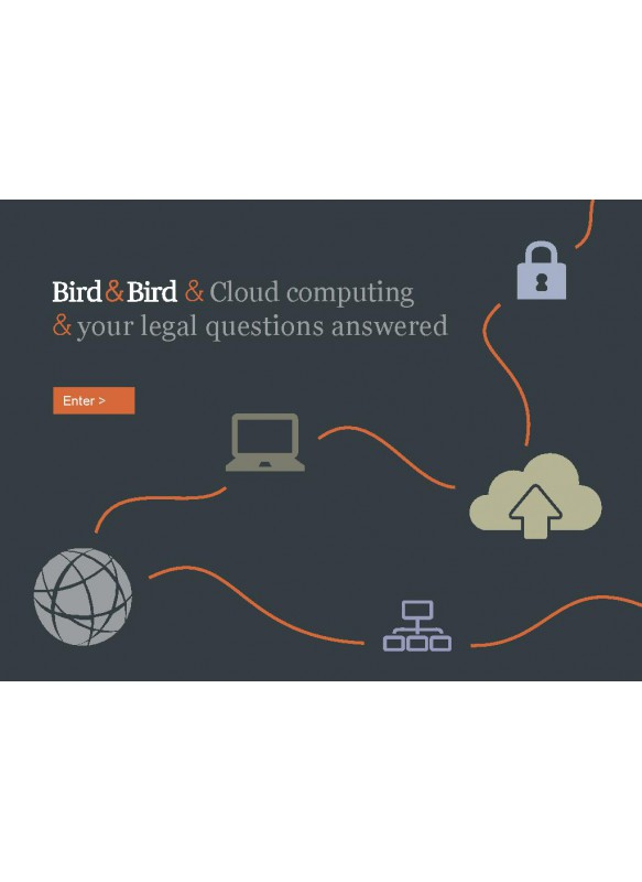 Bird & Bird & Cloud computing & your legal questions answered