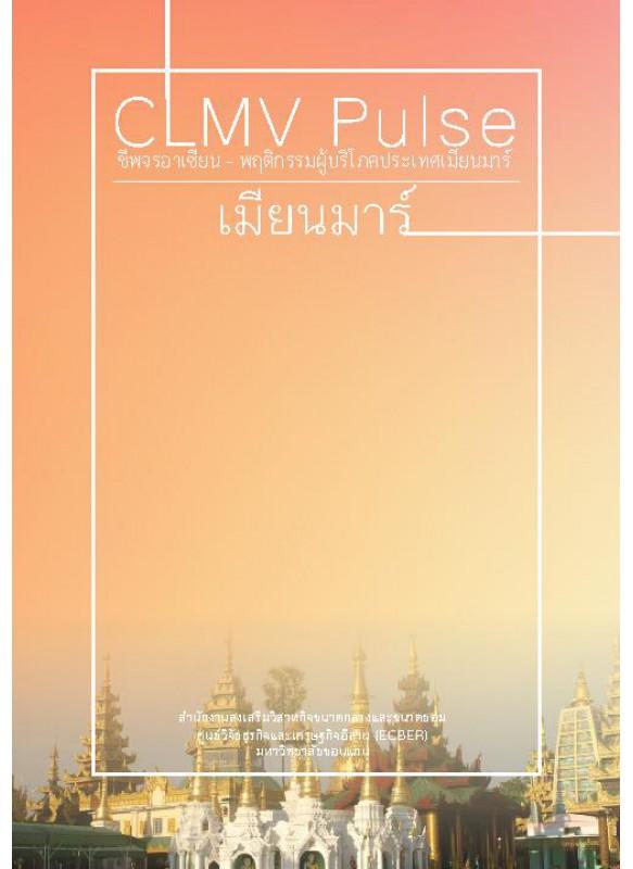 CLMV Pulse  ชีพจรอาเซียน - พฤติกรรมผู้บริโภคประเทศเมียนมาร์ 2014