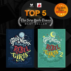 NY Times Bestseller Good Night Stories for Rebel Girls