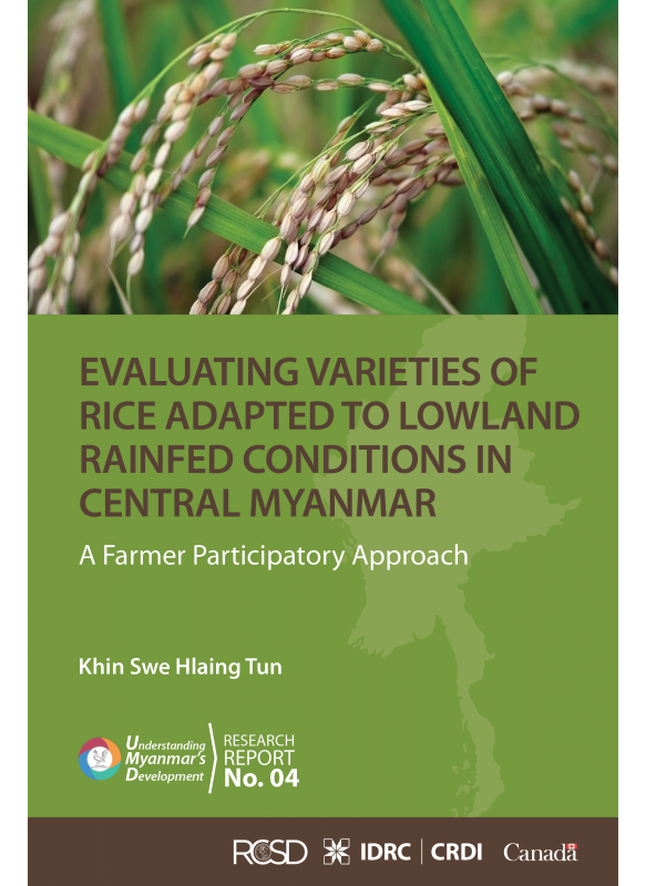 UMD 04 Evaluating Varieties of Rice Adapted to Lowland Rainfed Conditions in Central Myanmar