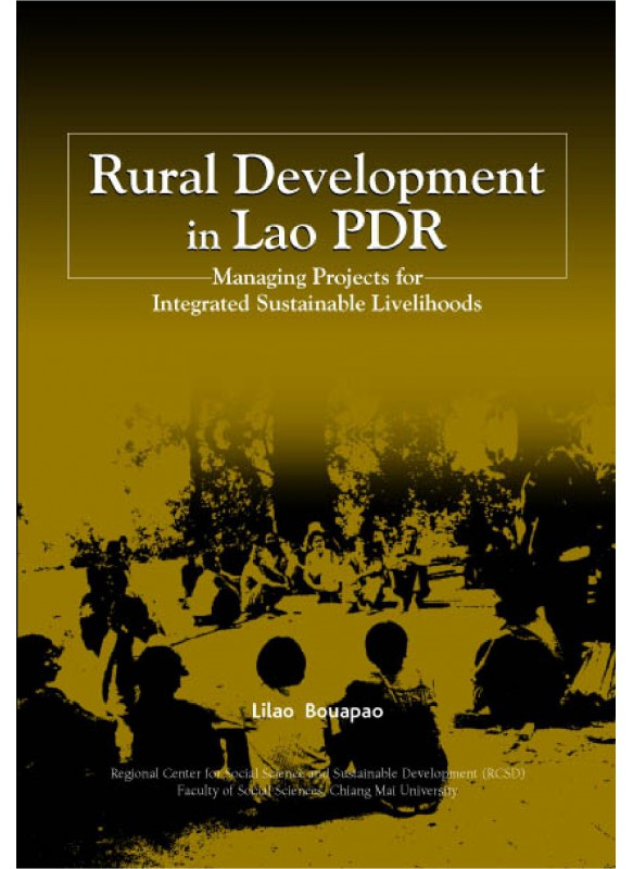 Rural Development in Lao PDR Managing Projects for Sustainable Livelihoods