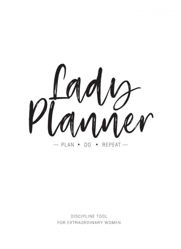 สมุดสร้างวินัยลูกผู้หญิง Lady Planner