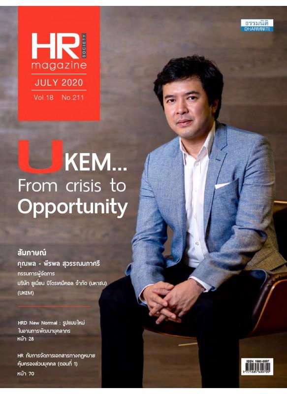 HR Magazine Society July 2020 Vol.18 No.211