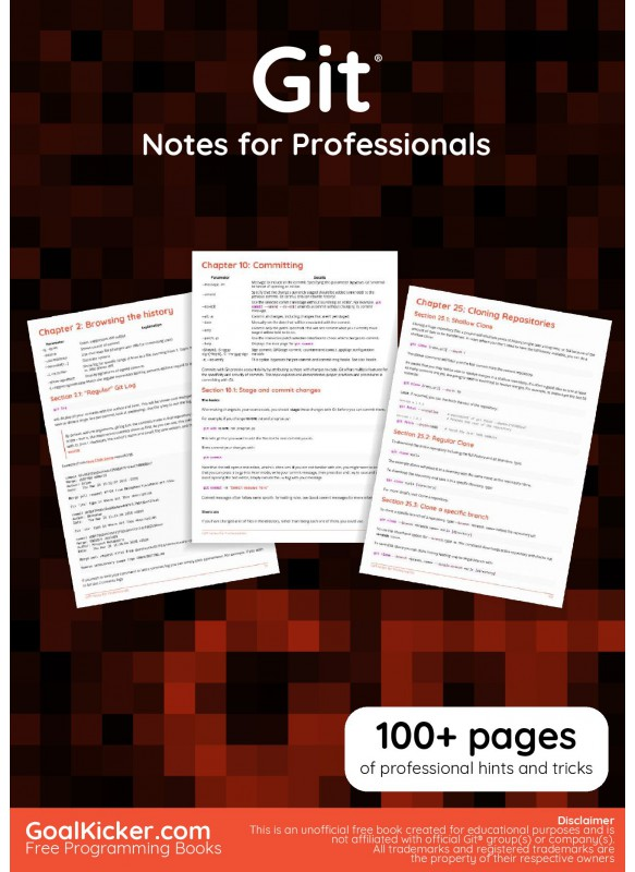 Git Notes For Professionals