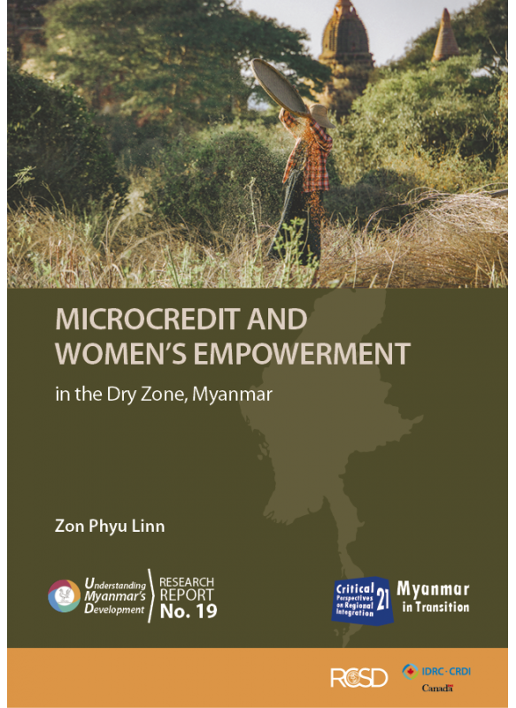 UMD 19 MICROCREDIT AND WOMEN'S EMPOWERMENT in the Dry Zone, Myanmar