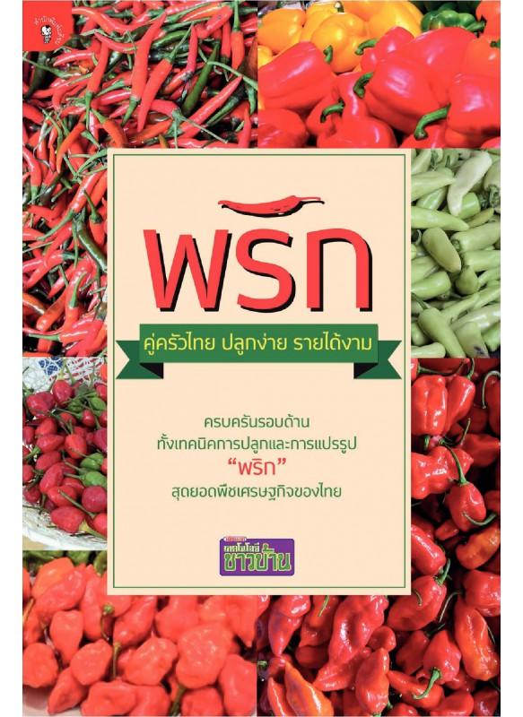 พริก คู่ครัวไทย ปลูกง่าย รายได้งาม